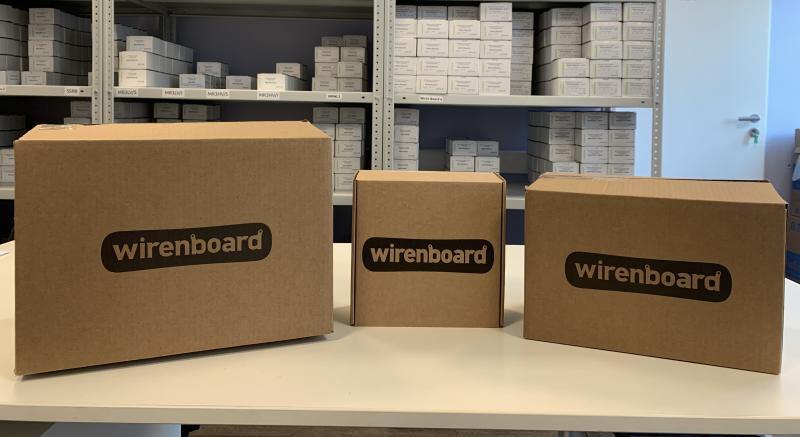 Транспортная упаковка устройств Wiren Board