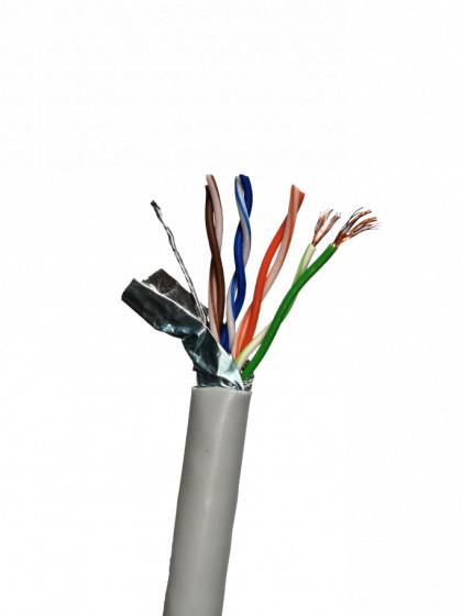 ParLan Patch F/UTP Cat5e PVC 4х2х0,60 sq.mm